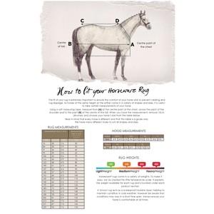 Horseware Amigo Amigo Bravo 12 Reflectech Plus  250g Medium
