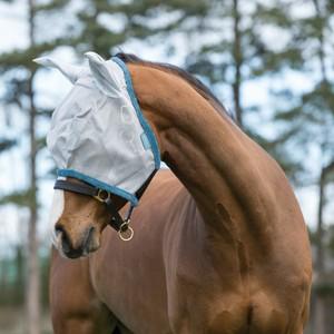Horseware Amigo Horseware® Amigo FlyMask in Baby Blue/Navy