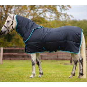 Horseware Amigo Amigo Insulator Pony Plus Medium 200g in Navy/Electric Blue