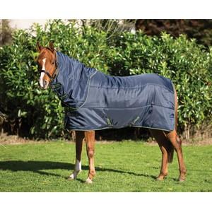 Horseware Amigo Amigo Insulator Pony Plus Medium 200g in Navy/Green