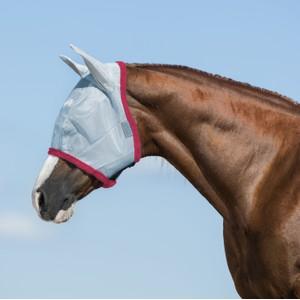 Horseware Amigo Horseware® Amigo FlyMask in Baby Blue/Pink