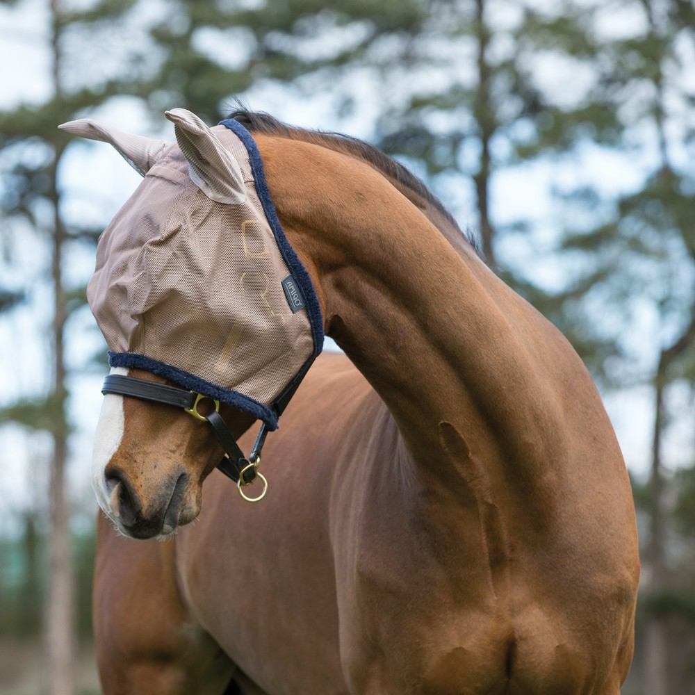 Horseware Amigo Horseware® Amigo FlyMask in Bronze/Navy