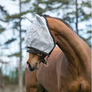 Horseware Amigo Horseware® Amigo FlyMask in Silver/Dark Grey