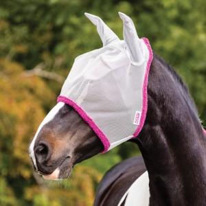 Horseware Amigo Horseware® Amigo FlyMask in Silver/Purple
