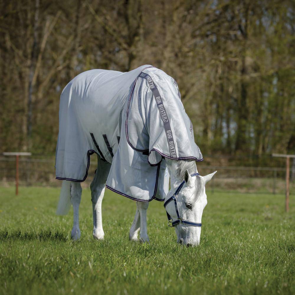 Horseware Amigo Amigo Bug Buster Vamoose in Silver/Plum/Silver