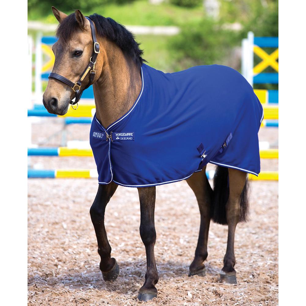 Horseware Amigo Amigo Jersey Pony in Atlantic Blue/Ivory