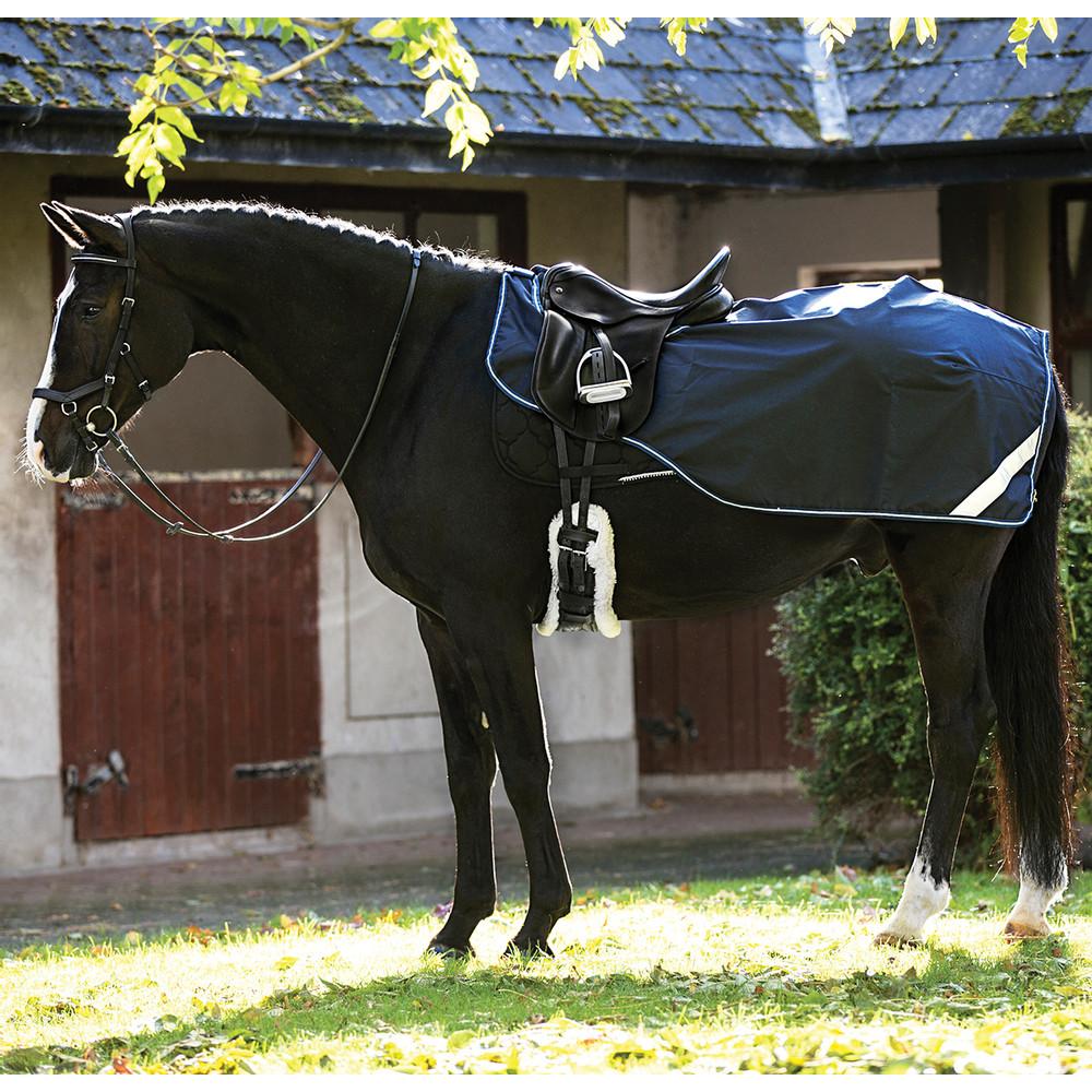 Horseware Amigo Amigo Competition Sheet in Navy/White