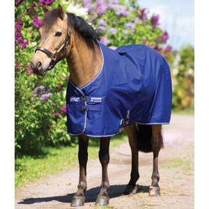 Horseware Amigo Amigo Hero 900 Pony Original  Medium 200g in Atlantic Blue/Ivory