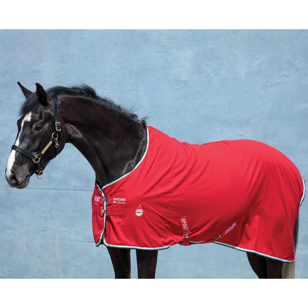 Horseware Amigo Amigo Stable Sheet in Red/White