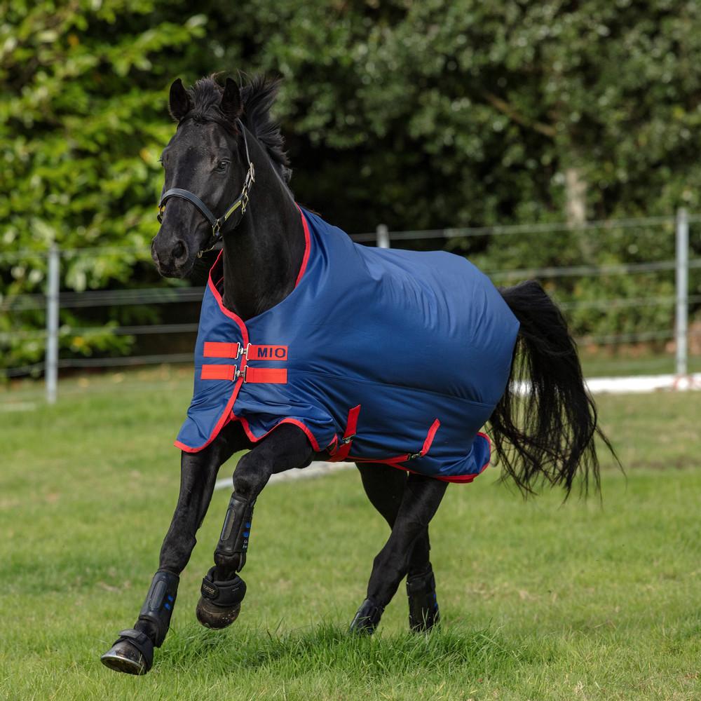 Horseware Mio Turnout  Lite 0g in Dark Blue/Red