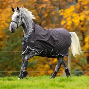 Horseware Amigo Amigo Bravo 12 Rug Lite 0g in Excalibur/Plum/White/Silver