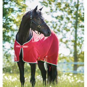 Horseware Amigo Amigo Net Cooler in Red/White