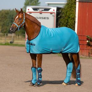 Horseware Amigo Amigo Jersey Cooler in Delphinium Blue/Navy