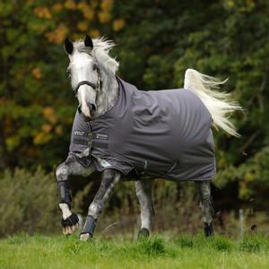 Horseware Amigo Bravo 12 Turnout Lite 0g in Excalibur/Plum/Silver