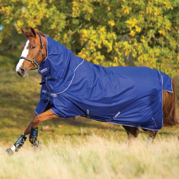 Horseware Amigo Amigo Hero 900 Plus Medium 200g in Atlantic Blue/Ivory