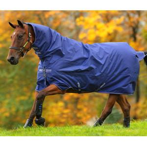 Horseware Amigo Amigo Hero 900 All in One  200g Medium in Atlantic Blue/Ivory