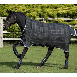 Horseware Rhino Rhino Rug with Vari-Layer® Heavy 450g in Black/Grey/White Check