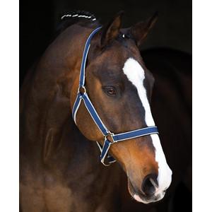 Horseware Amigo Headcollar in Navy/Silver