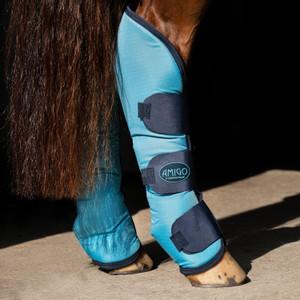 Horseware Amigo Amigo Ripstop Travel Boots in Delphinium Blue/Navy