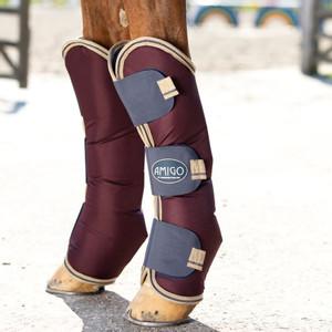Horseware Amigo Amigo Ripstop Travel Boots in Fig/Navy/Tan
