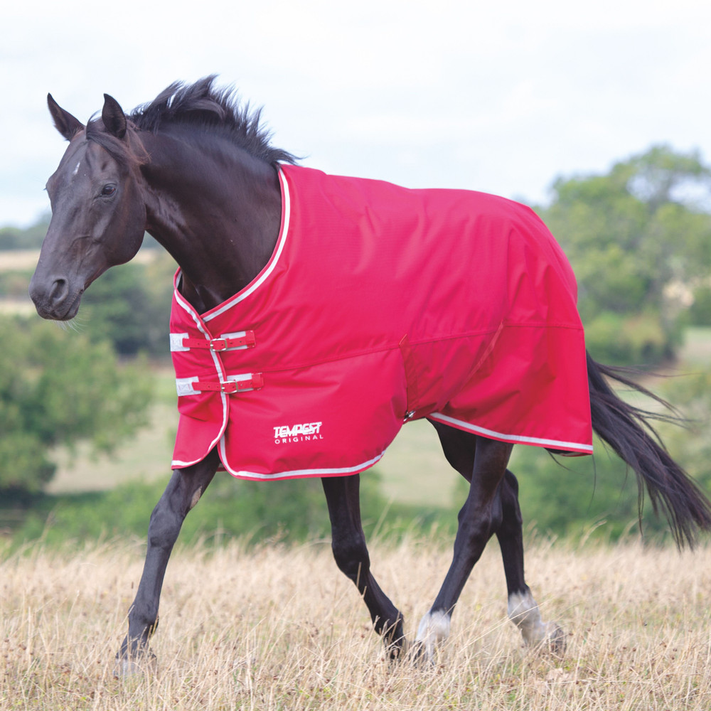 Shires Tempest Original Air Motion Turnout  Rug in Red/Grey