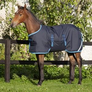 Horseware Amigo Amigo Foal Rug 200g Ripstop in Navy/Electric Blue