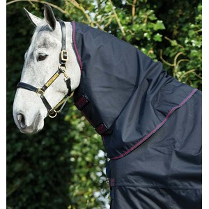 Horseware Amigo Amigo XL Neck Cover no fill in Navy/Red