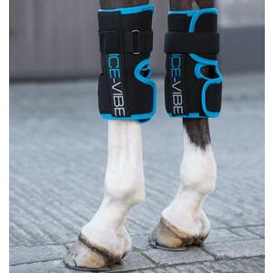 Horseware Ice-Vibe Ice-Vibe Knee Wrap Black/Aqua