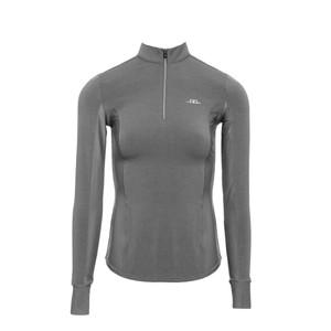 Alessandro Albanese Clean Cool Half Zip Long Sleeve Top - Grey