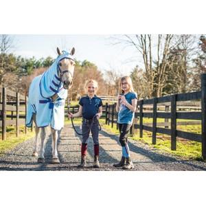 Horseware Kids Technical Socks - Dark Blue Haven Blue Heaven