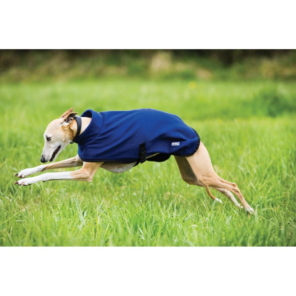 Horseware Amigo Amigo Fleece Dog Rug in Navy/Black