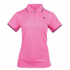 Aubrion Parsons Tech Polo - Ladies - Pink