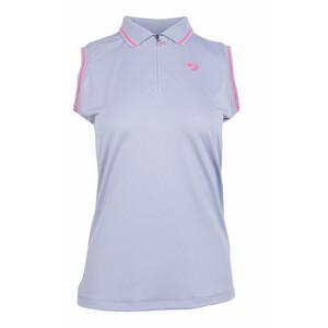 Aubrion Harrow Sleevelesss Polo - Ladies - Grey