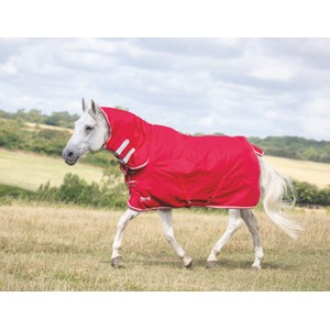 Tempest Original Lite Turnout Combo Rug in Red/Grey