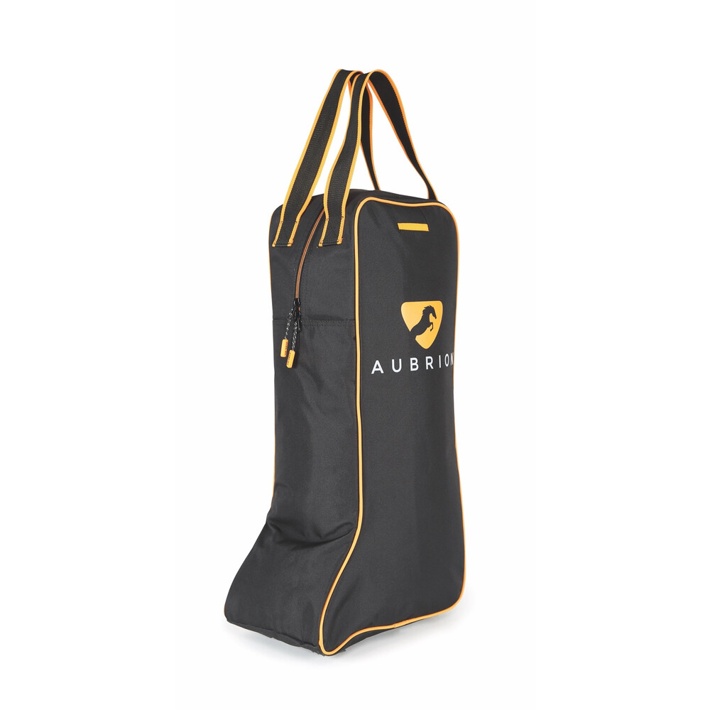 Aubrion Long Boot Bag in Black