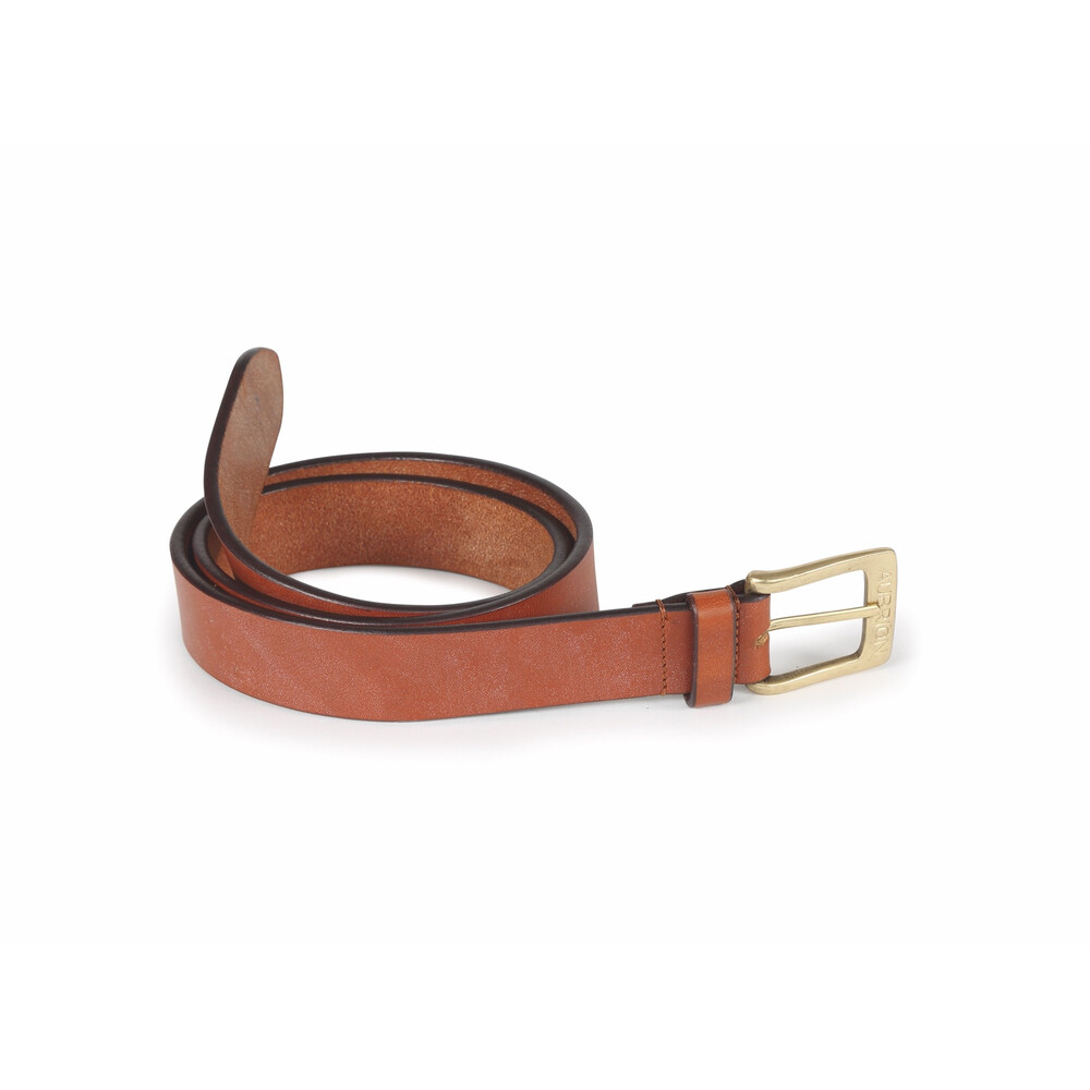 Aubrion 35mm Leather Belt - Adult in Tan
