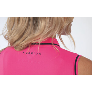 Aubrion Harrow Sleeveless Polo - Maids - Girls - Pink