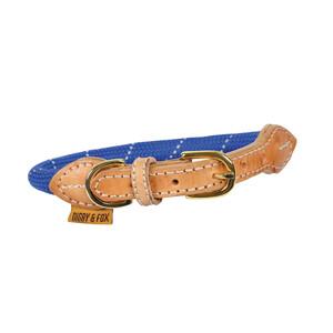 Digby & Fox Reflective Dog Collar - Blue