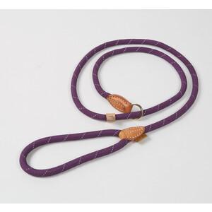 Digby & Fox Reflective Slip Dog Lead - Purple in Purple
