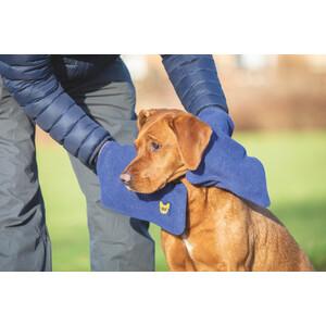 Digby & Fox Dog Towel Glove - Navy in Navy
