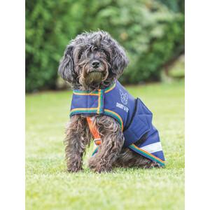 Digby & Fox Waterproof Dog Coat - Navy in Navy