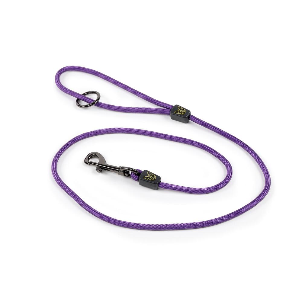 Digby & Fox Pro Dog Lead - Purple in Purple