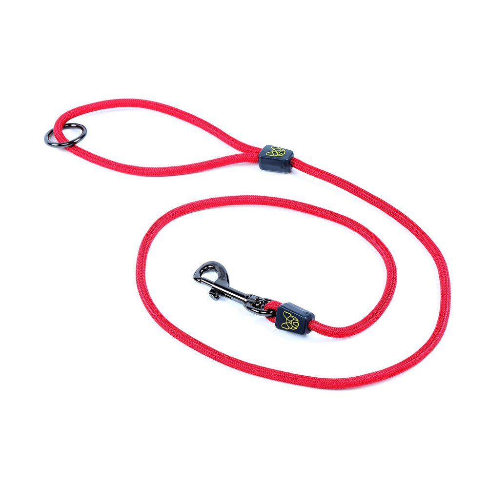 Digby & Fox Pro Dog Lead - Red in Red