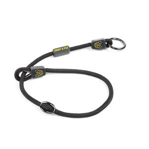 Digby & Fox Pro Slip Dog Collar - Black in Black