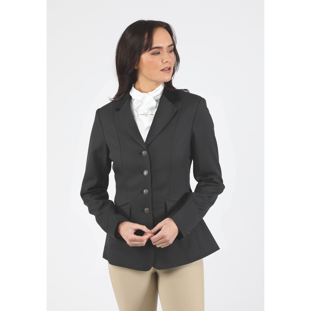 Shires Aston Jacket - Ladies - Black in Black