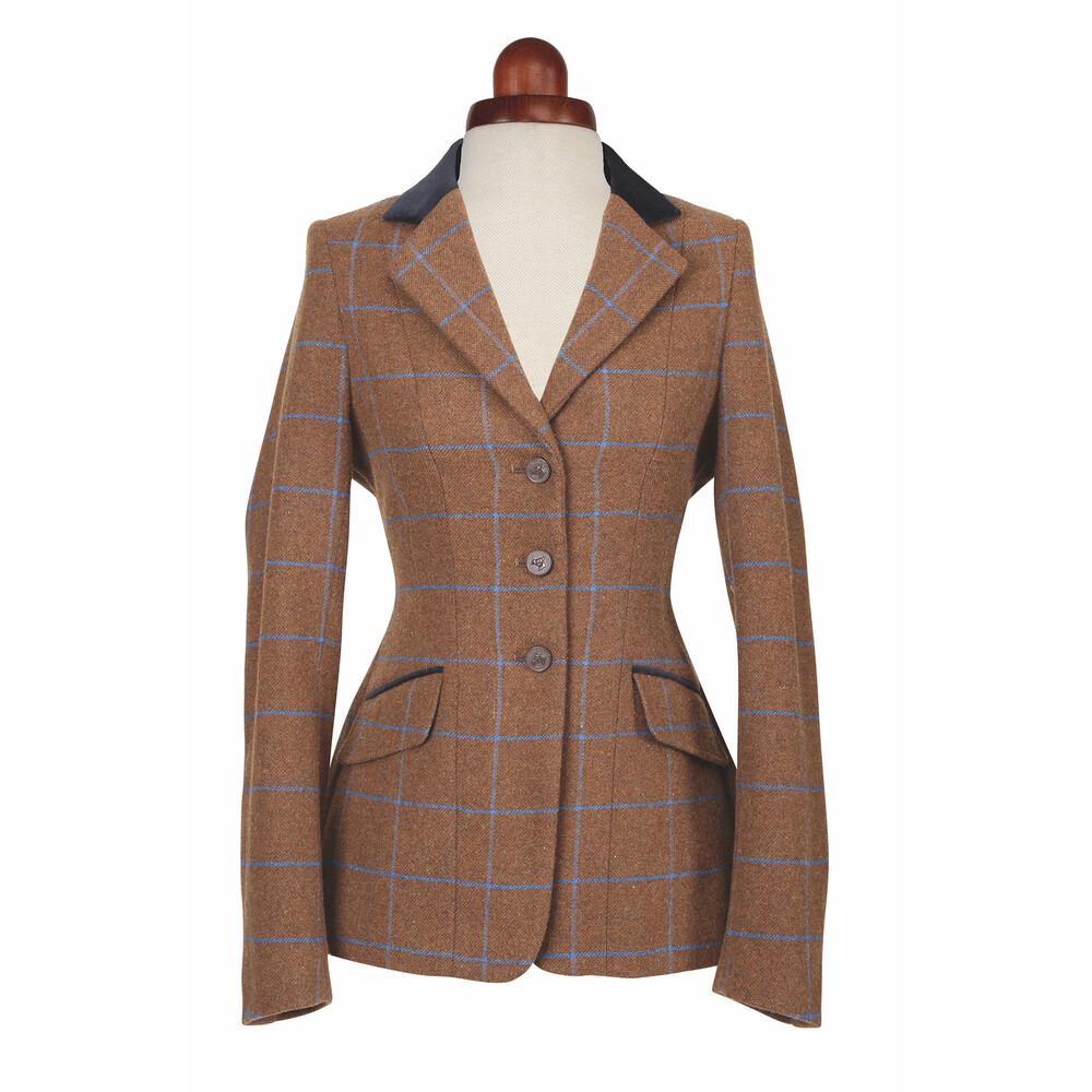 Aubrion Saratoga Jacket - Ladies - Brown Tweed in Brown Tweed