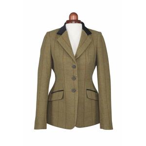 Aubrion Saratoga Jacket - Ladies - Copper Check in Copper Check