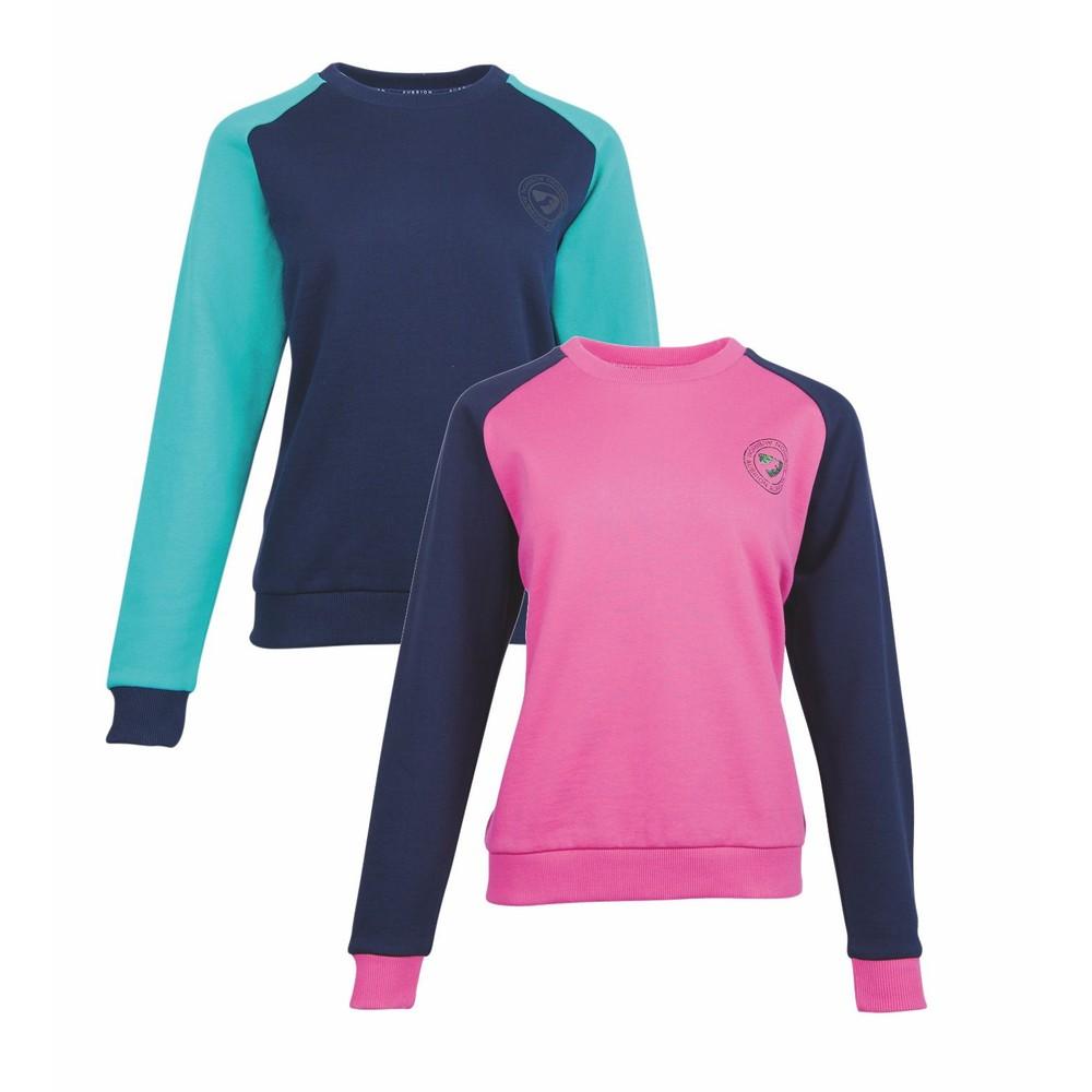 Aubrion Boston Sweatshirt - Ladies - Pink in Pink