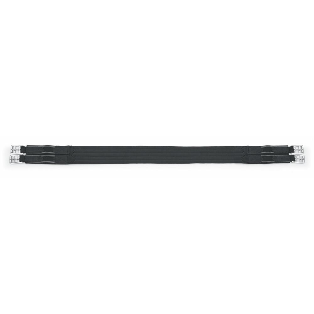 Shires Burghley Girth - Elastic in Black