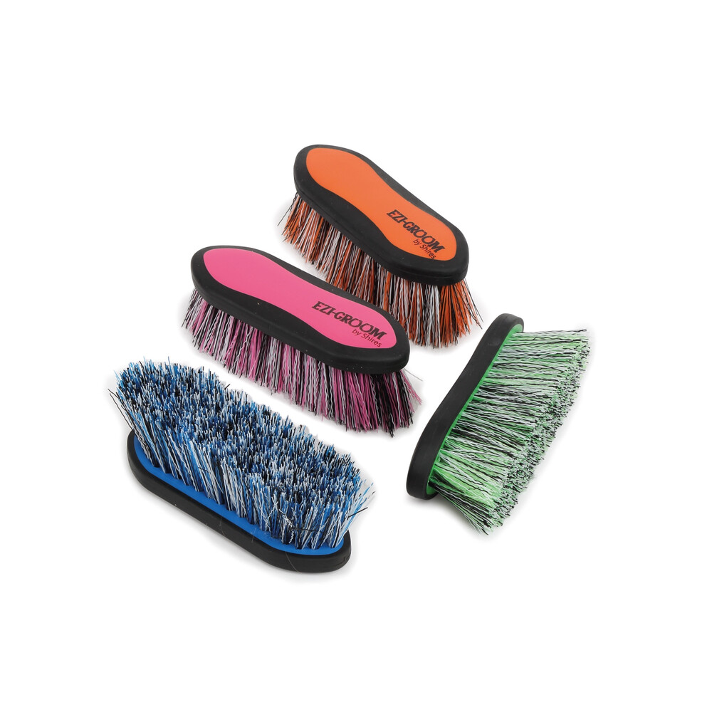 Ezi-Groom EZI-GROOM Grip Dandy Brush in Orange